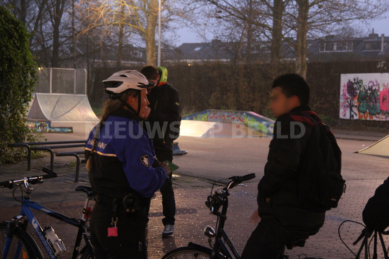 Handhaving en politie treden repressief op met fietsverlichtingscontrole