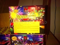 Vuurwerk Fantasycake