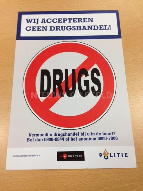 Drie verdachten van drugsdealen aangehouden omgeving Mendelweg Boskoop