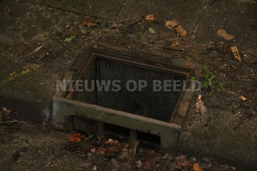 Meerdere straatkolken vernielt in Capelle aan den IJssel door vuurwerk