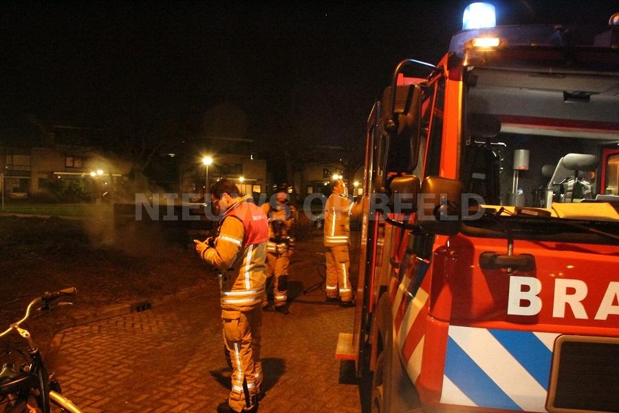 Containerbrand Bellinistraat Capelle aan den IJssel
