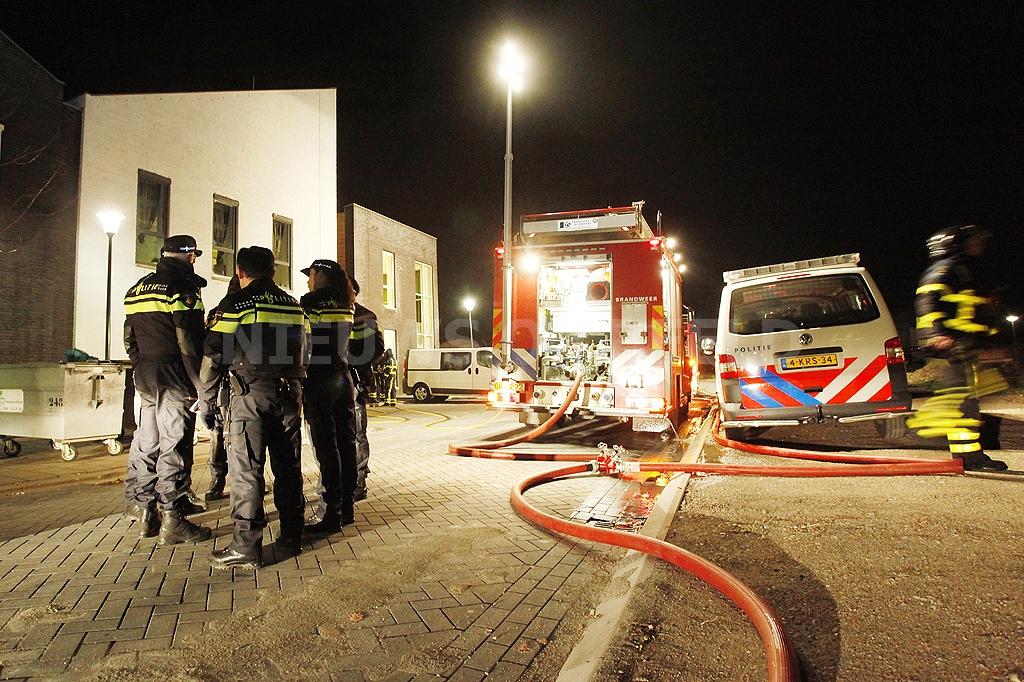 Bewoner gered bij brand Profila Zorg Puttershoek
