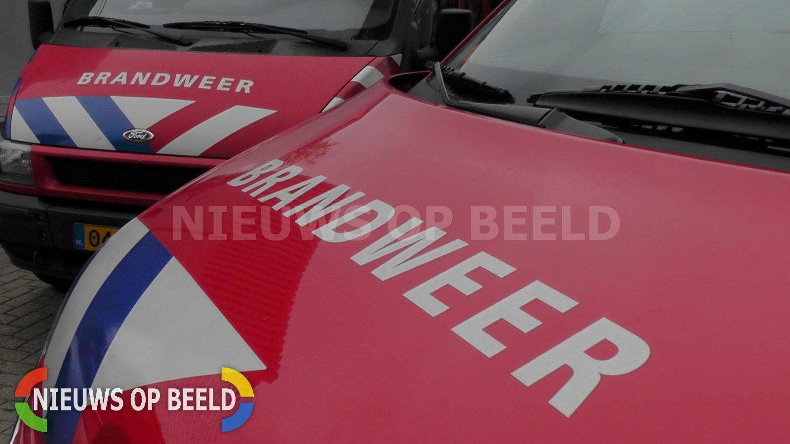 Grote brand kassencomplex Blaaksedijk Oost Heinenoord