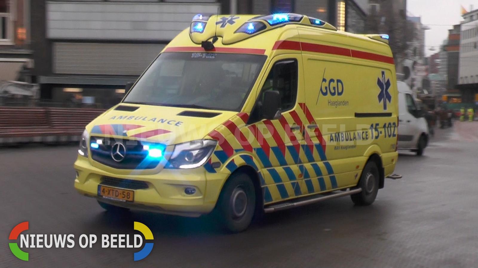 Man gewond na ruzie Foreestlaan Delft