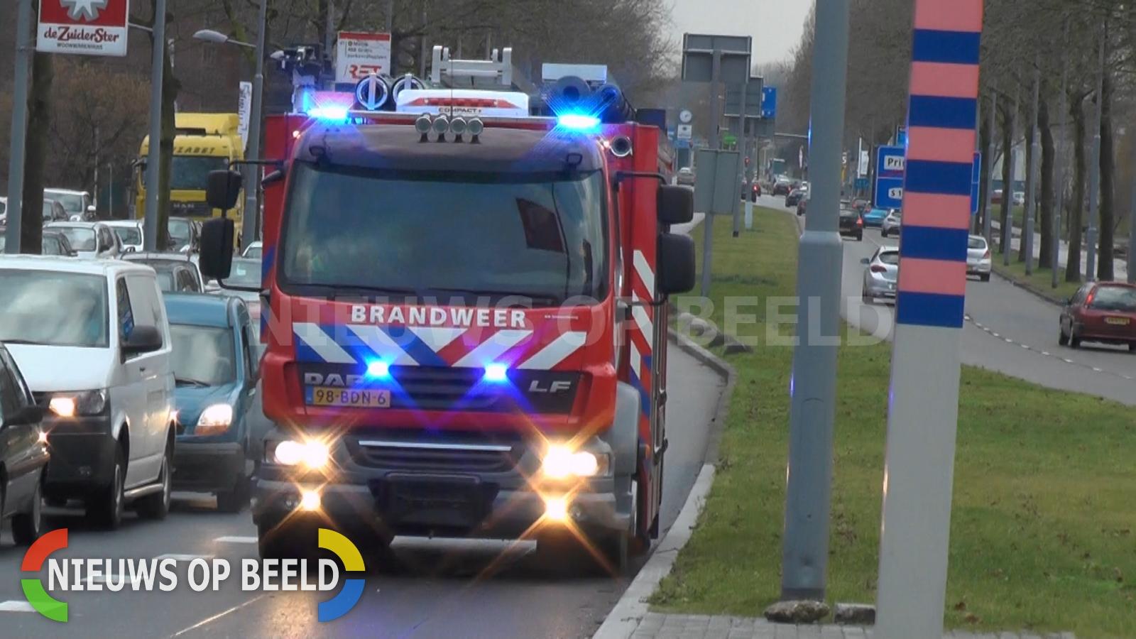 Uitslaande brand in woning Patrimoniumstraat Leerdam