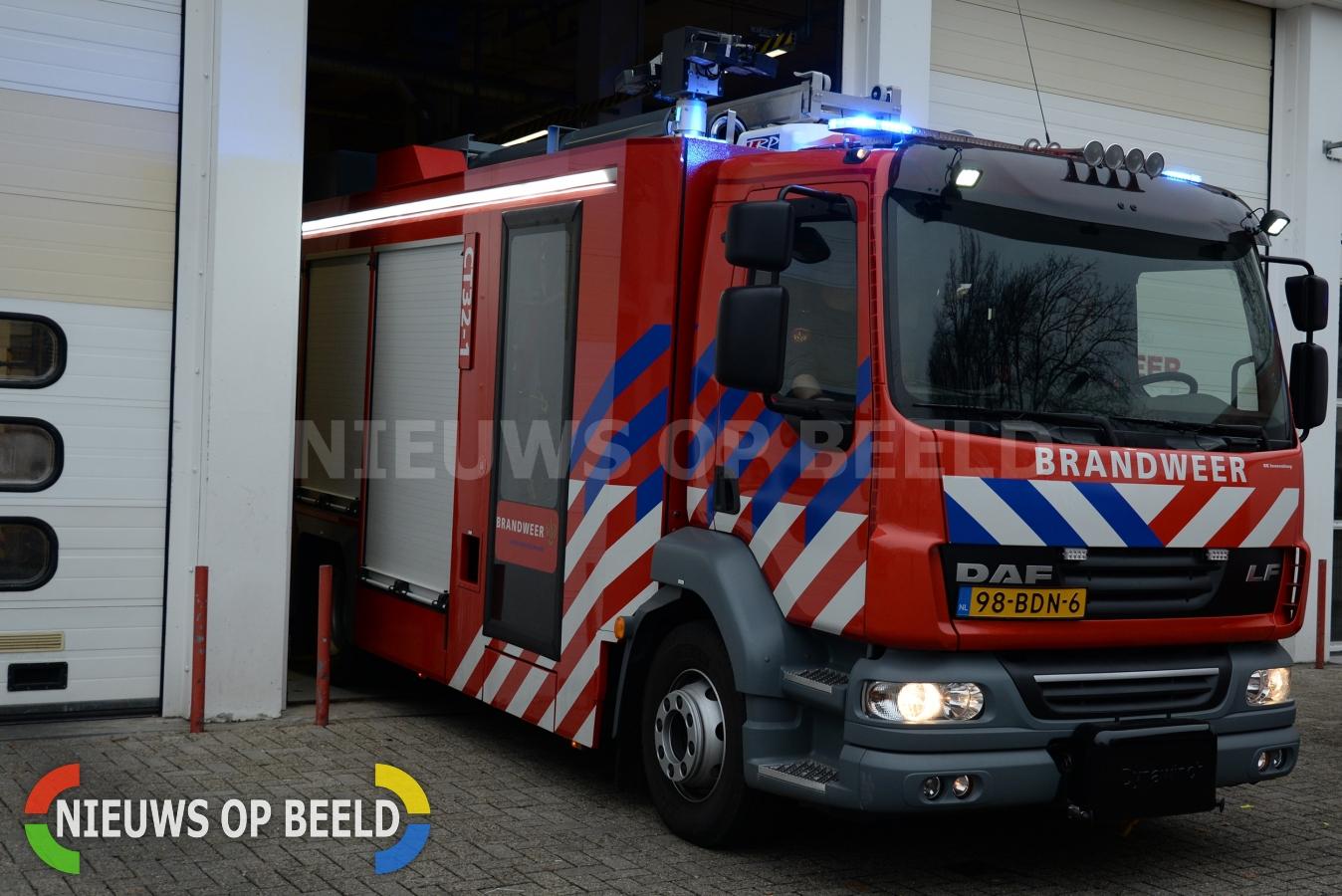 Brandweer Rotterdam 3000x minder uitgerukt in 2014