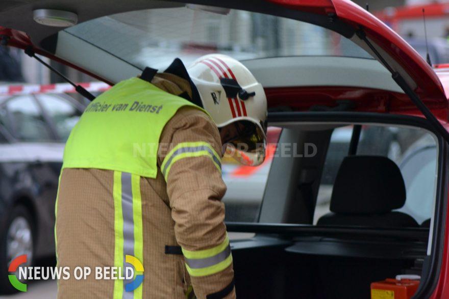 Stockfoto brandweer brand HO OVD