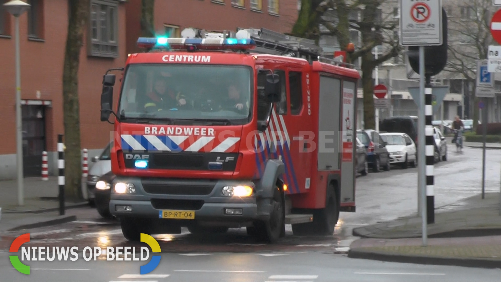 Grote brand in schuur Vierschaarstraat Oud Gastel
