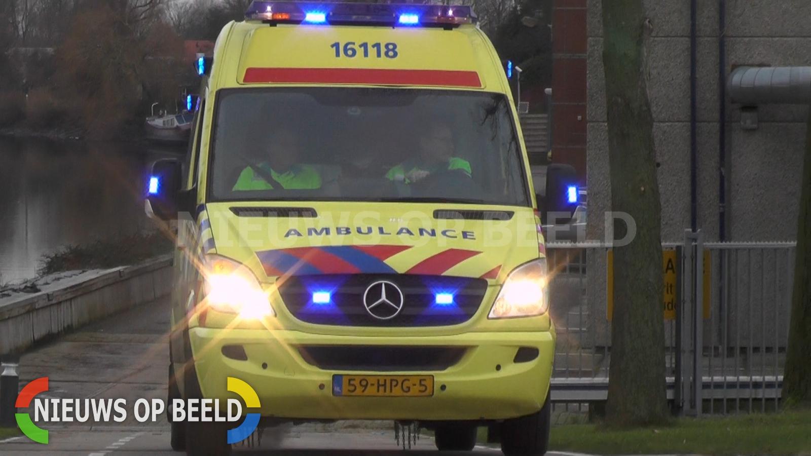Motorrijder gewond na valpartij N59 Kerkwerve