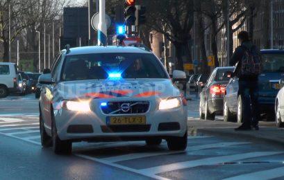 Politie stopt vluchtauto inbrekers op Parallelweg Sliedrecht