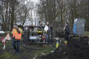 Woningen (200) zonder gas na blunder met heipaal Groeneweg / Wollefoppenweg Rotterdam