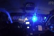 Brandstofdieven rammen politieauto Korte Schenkel Leerbroek