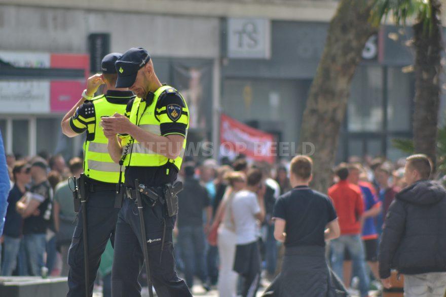 stockfoto joey politie evenement
