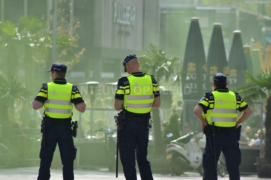 stockfoto joey politie agent evenement