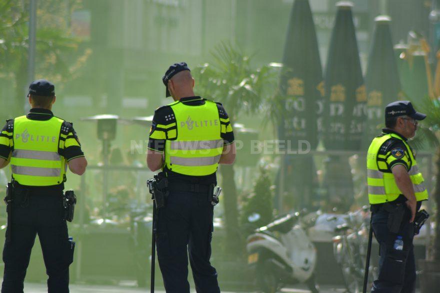pliesieman evenement politie stockfoto joey