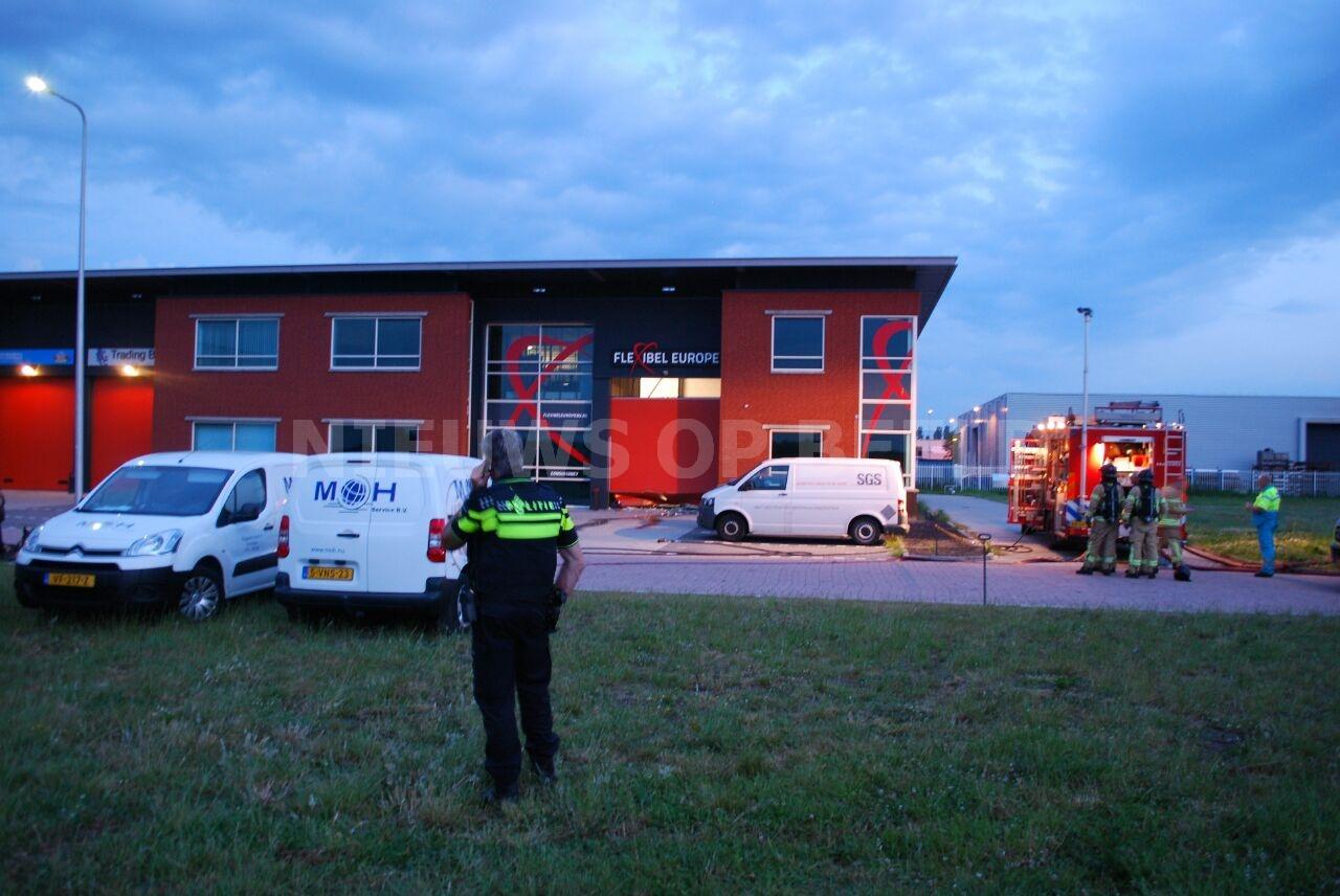 Verdachte in pand van ramkraak Flexibel Europe aangehouden Seggelant-Noord Vierpolders