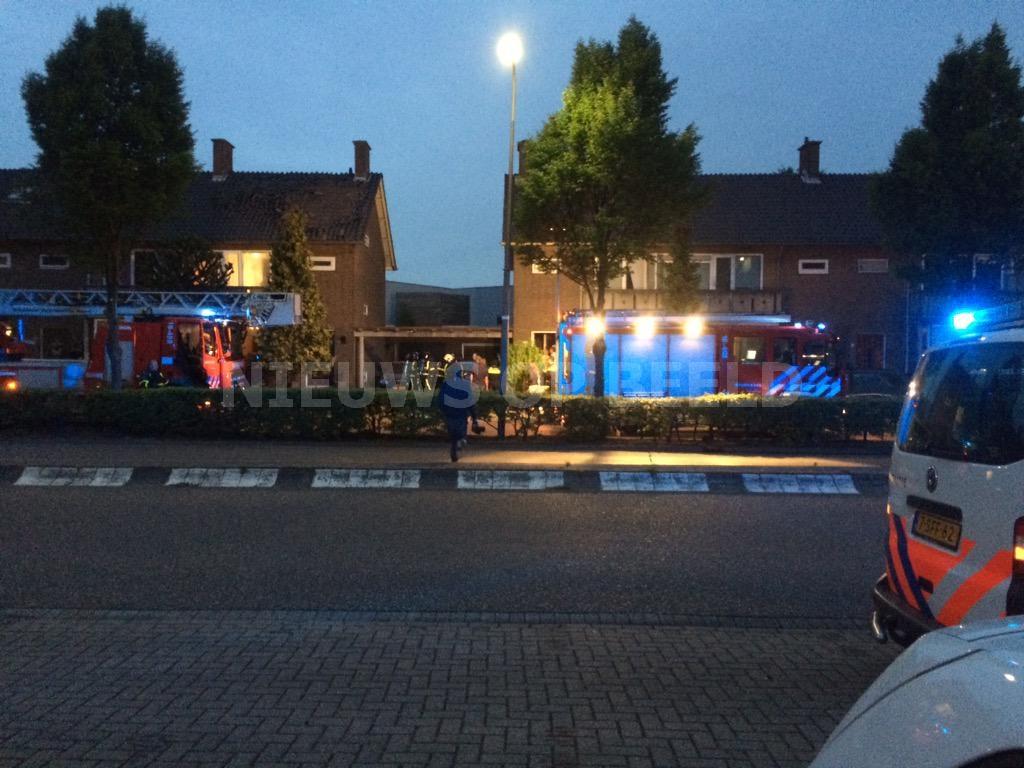 Verwarde man blaast woning met gezin op Pieter Zeemanstraat Zwijndrecht