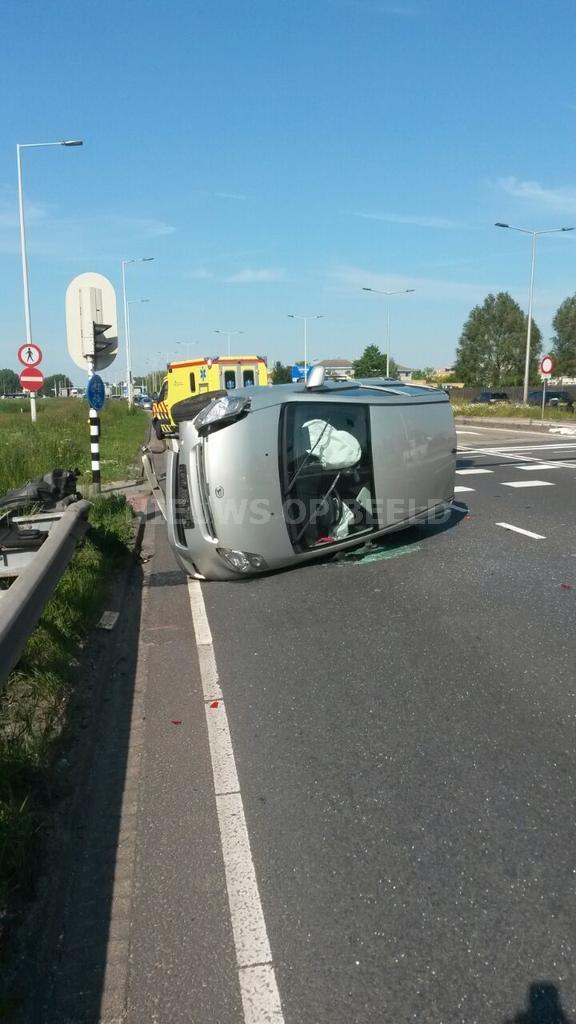 Fikse schade bij ongevallen Abram van Rijckevorselweg Capelle a/d IJssel