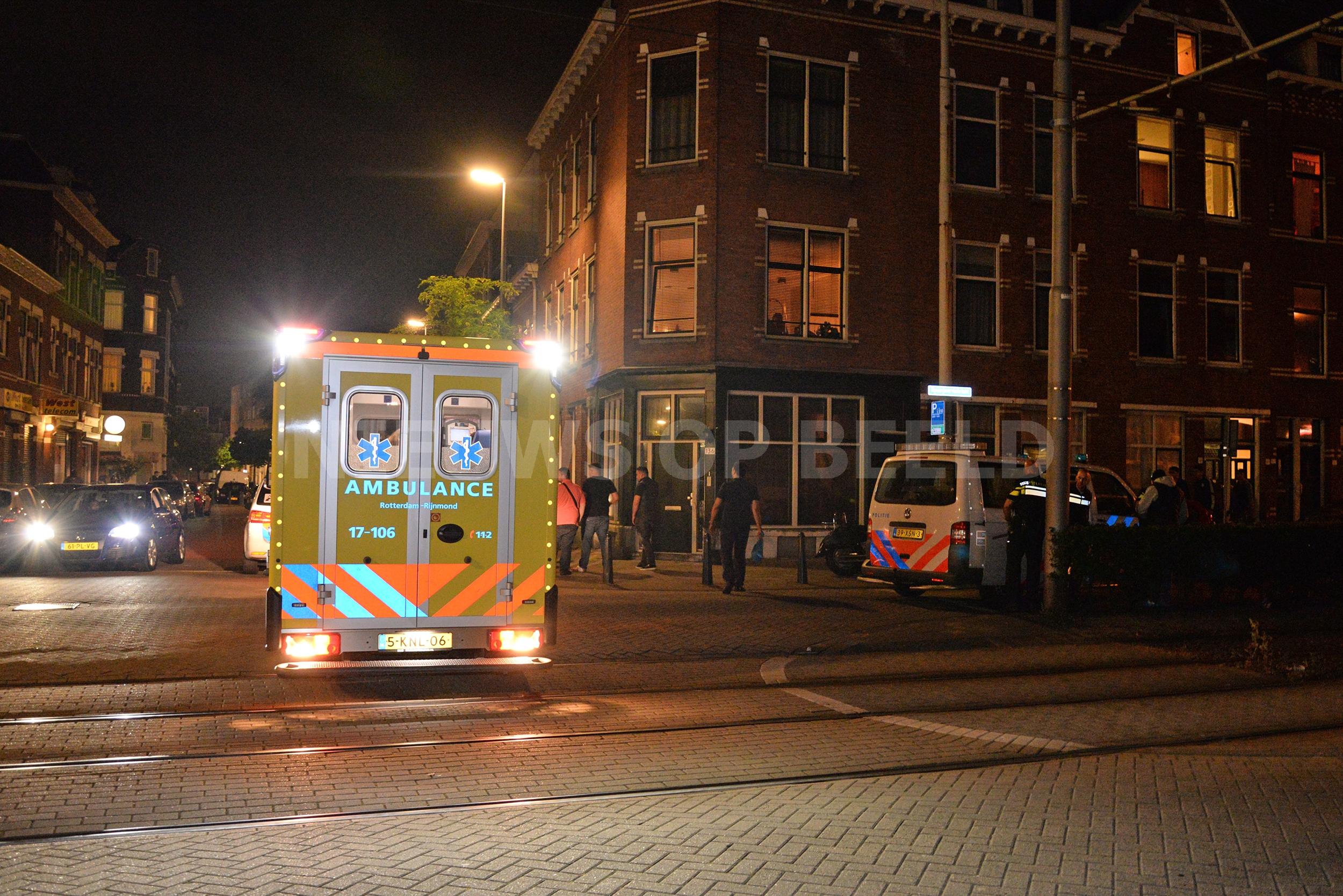 Aanhouding en gewonde na steekpartij Spanjaardstraat Rotterdam
