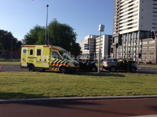 Fikse schade na aanrijding Hoofdweg Rotterdam