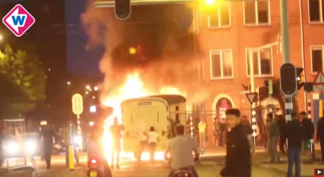 Rust wedergekeerd na avond en nacht vol rellen Schilderswijk Den Haag