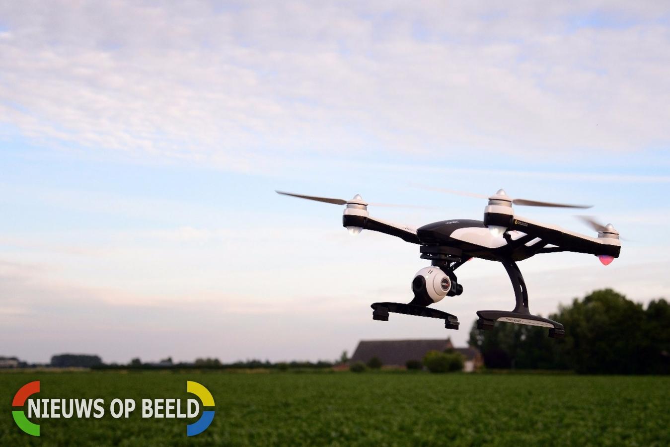 Drone met drugs onderschept bij penitentiaire inrichting Alphen aan den Rijn