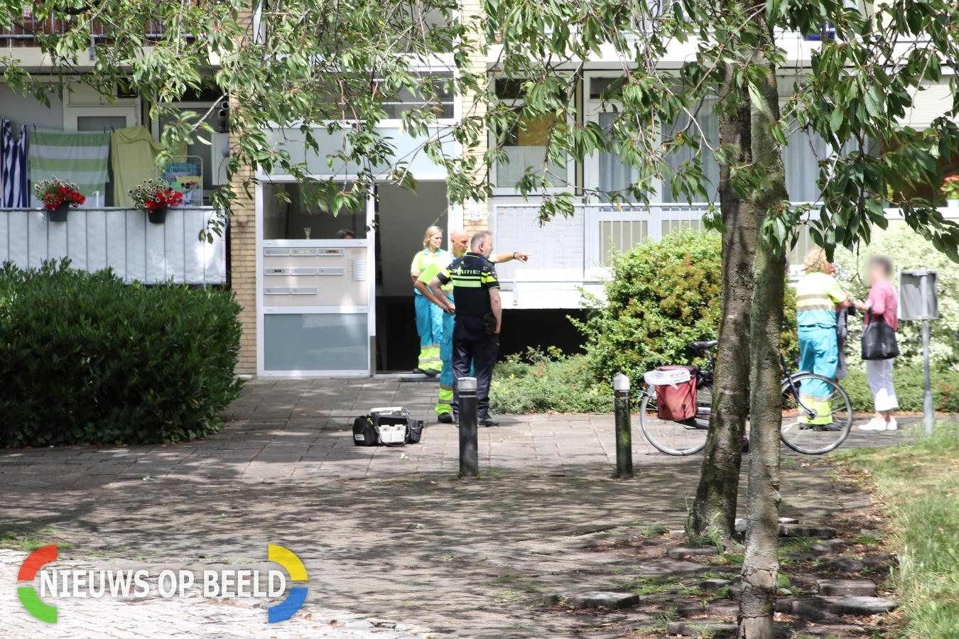 Stoffelijk overschot van vrouw (40) aangetroffen na melding koolmonoxide Alphen a/d Rijn