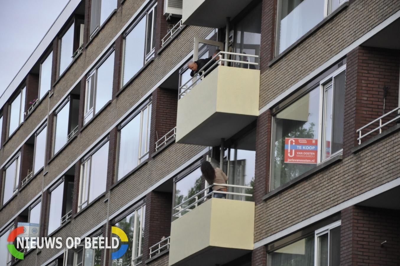 Verwarde dame houdt hulpdiensten uren bezig Streksingel Rotterdam