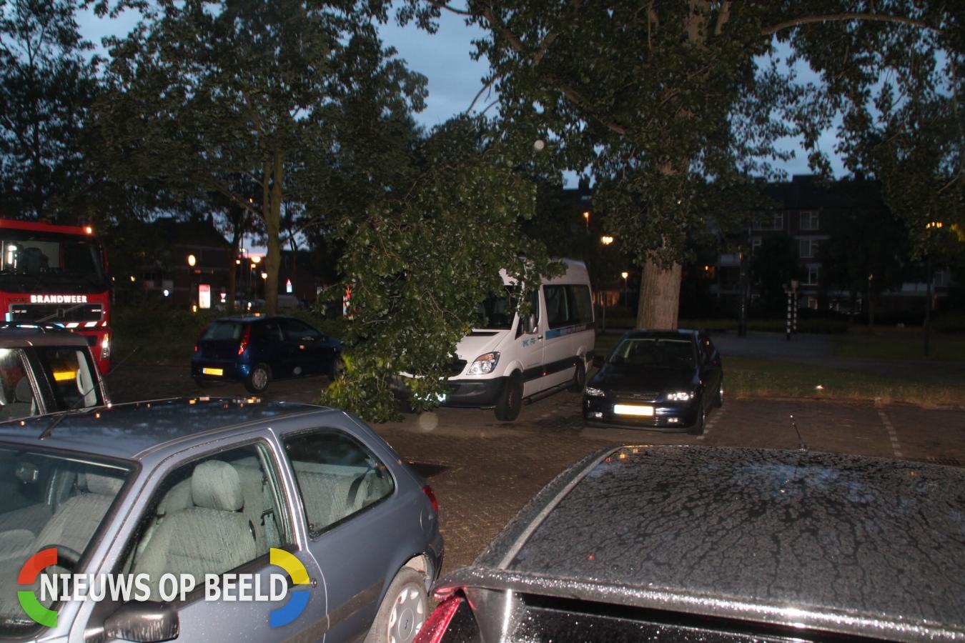 Tak valt op taxibus Lisztplein Schiedam