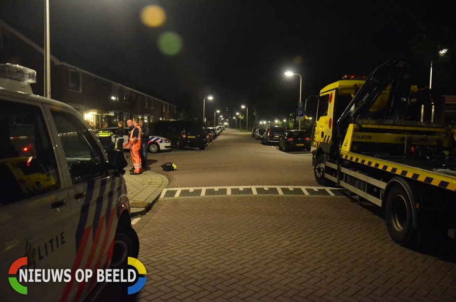 Politie onderzoekt brand in auto Jacob Roggeveenlaan Gouda