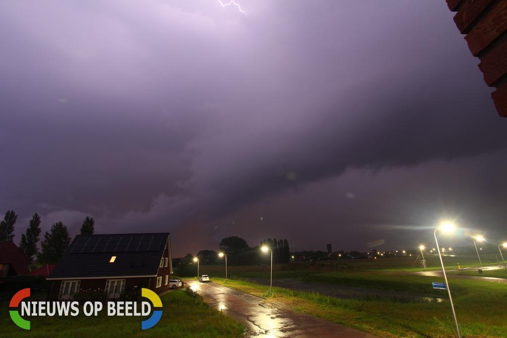 Veel overlast door noodweer tussen Hoeksche Waard en Gorinchem