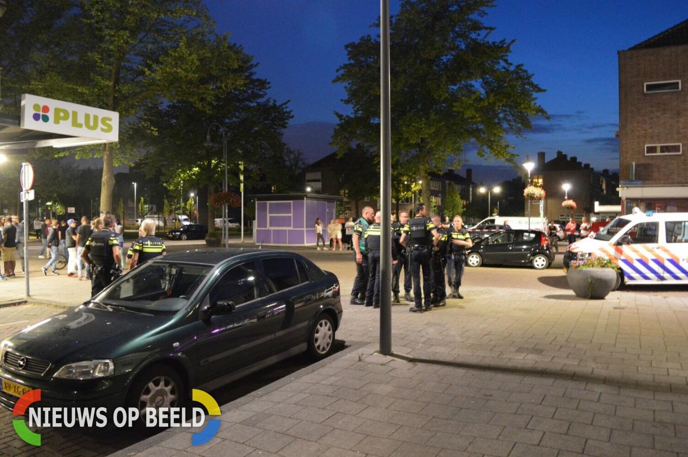 Politie houdt twee personen aan na melding vuurwapen Ganzerikplein Rotterdam