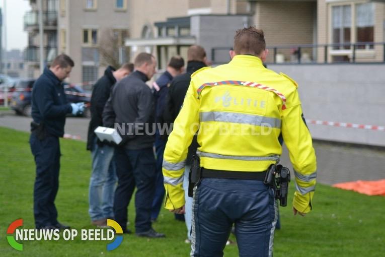 Gewonde bij schietpartij Vuurplaat Rotterdam