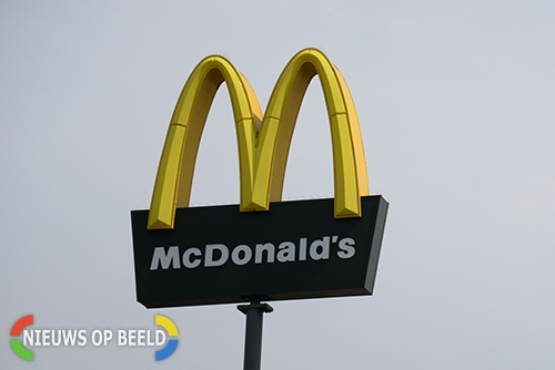 McDonald's ontruimd na vondst verdacht pakketje Westerhaven Groningen