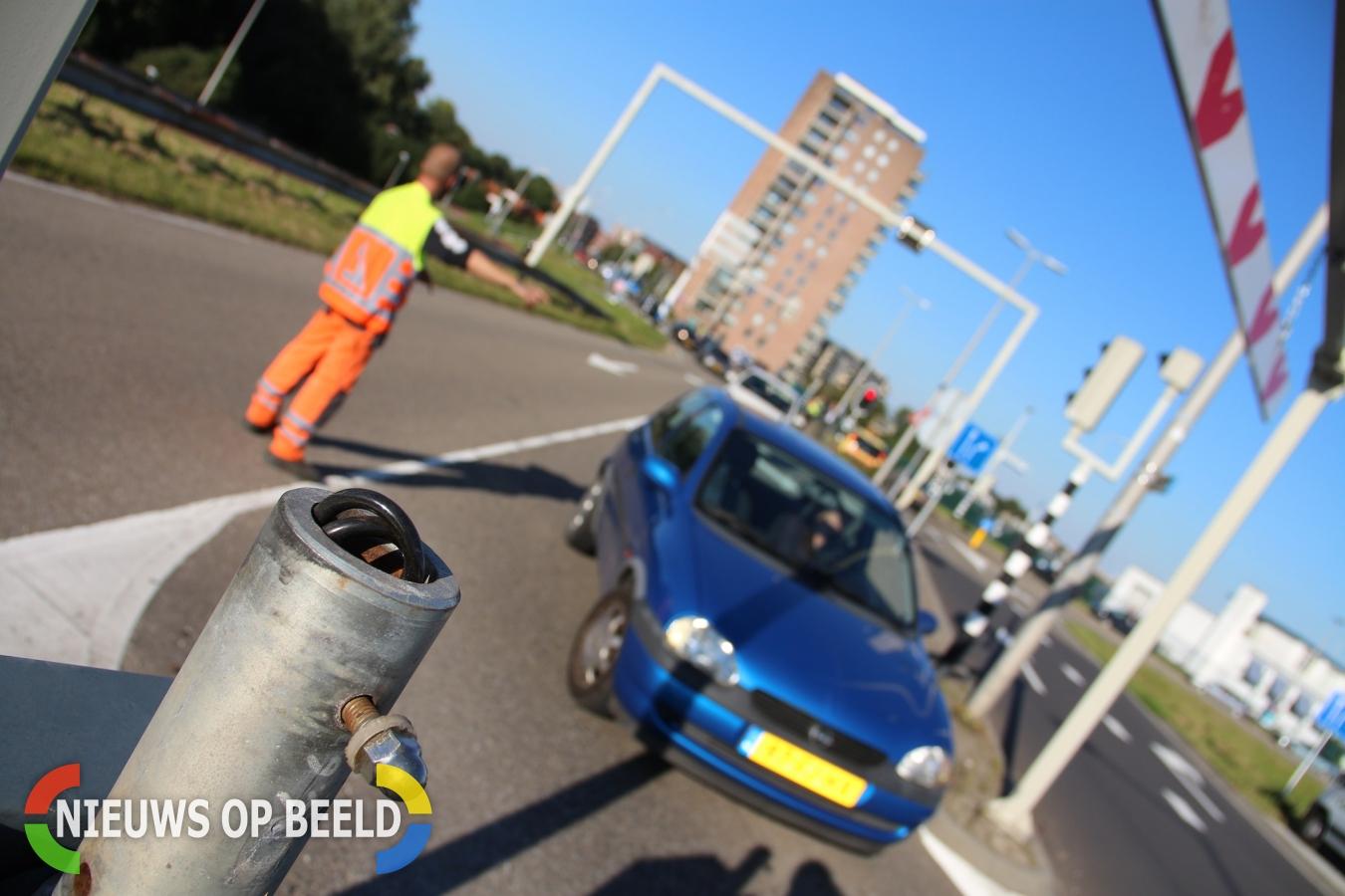 Verkeerschaos in Krimpen aan den IJssel door gesloten wisselstrook