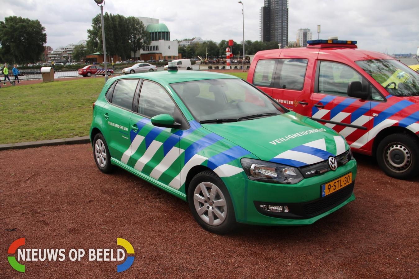 Groen voorrangsvoertuig Veiligheidsregio gepresenteerd tijdens ...