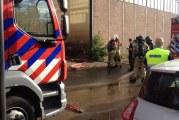 Geen gewonden bij brand scheepswerf IJsselmonde Rotterdam