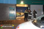 Ramkraak met auto supermarkt Keizerswaard Rotterdam (video)
