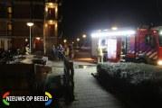 Containerbrand Uiverstraat Capelle aan den IJssel