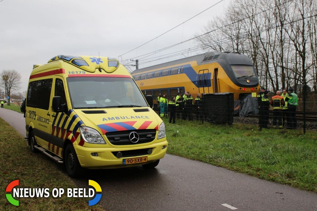 Geen treinen door aanrijding met persoon Wasbeeklaan Warmond