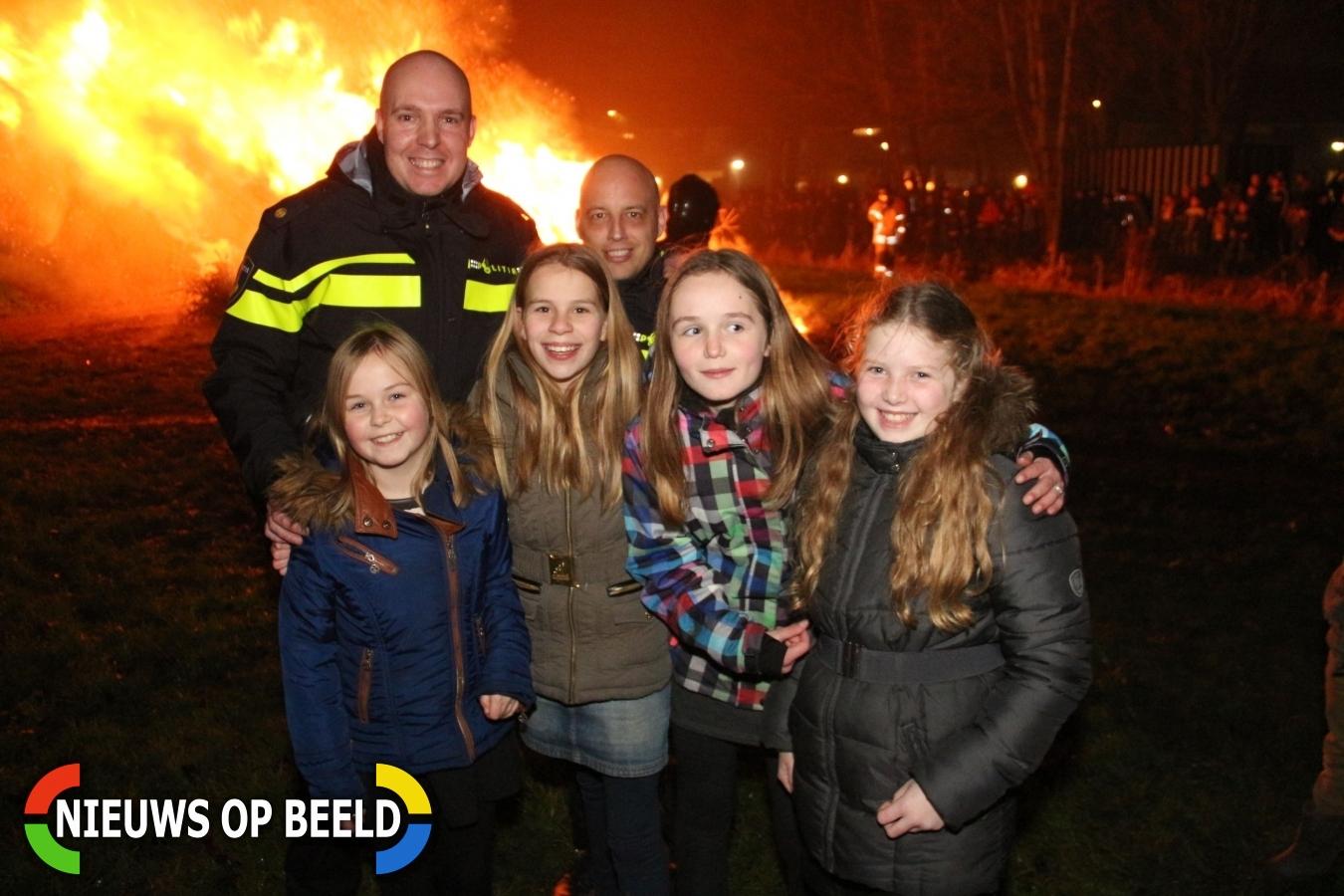 Kerstboomverbranding Krimpen aan den IJssel