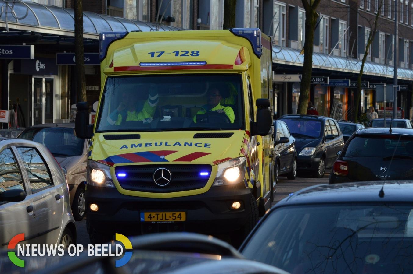 Twee gewonden na ongeluk door pechgeval A29 Heinenoordtunnel