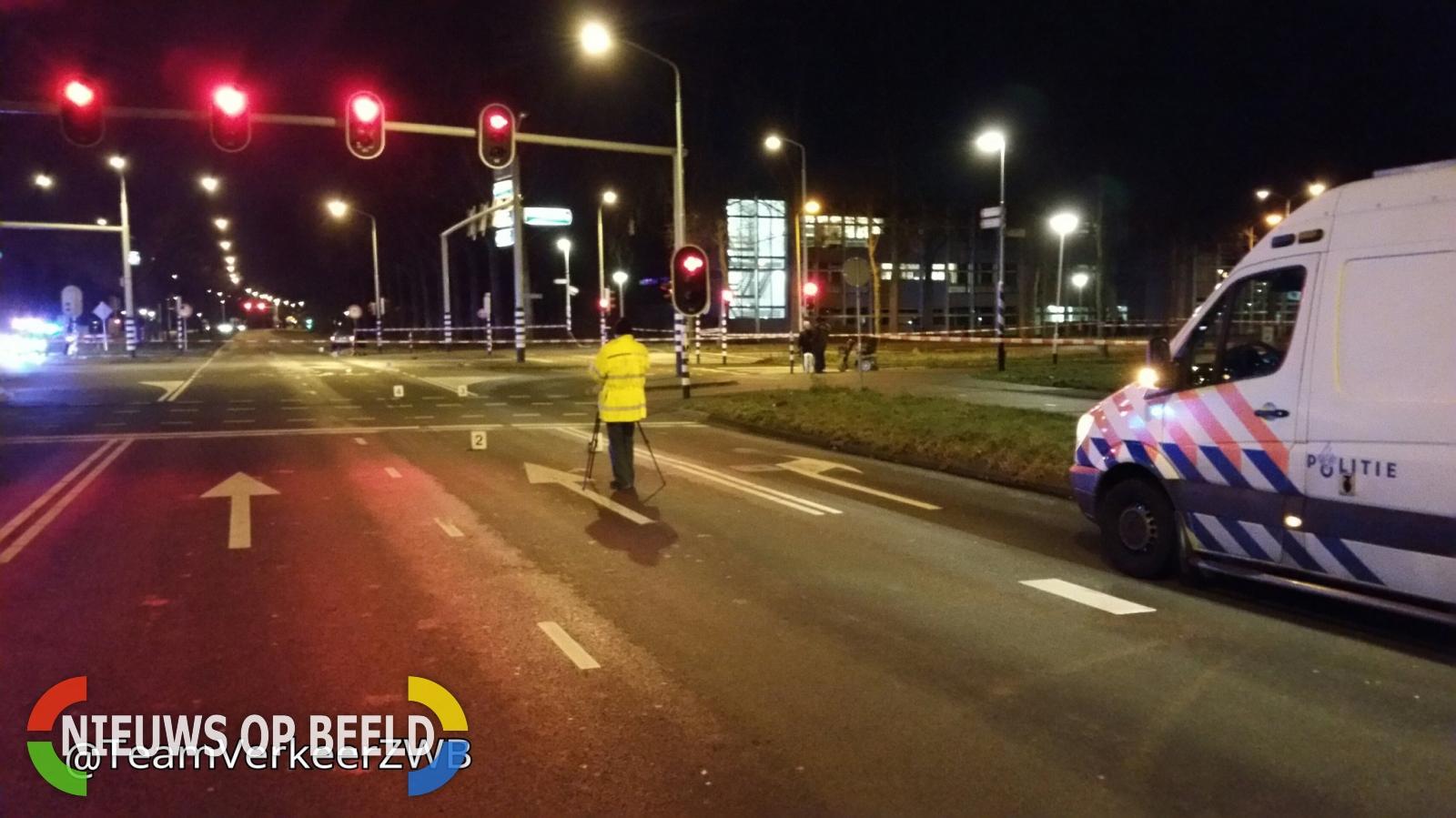 Man overleden na aanrijding met auto Doornboslaan Breda