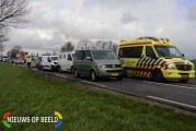 Wederom ongeval met gewonde N456 Zevenhuizen