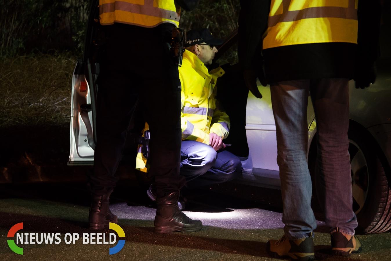 Politie en belastingdienst houden grootschalige verkeerscontrole A29 Numansdorp