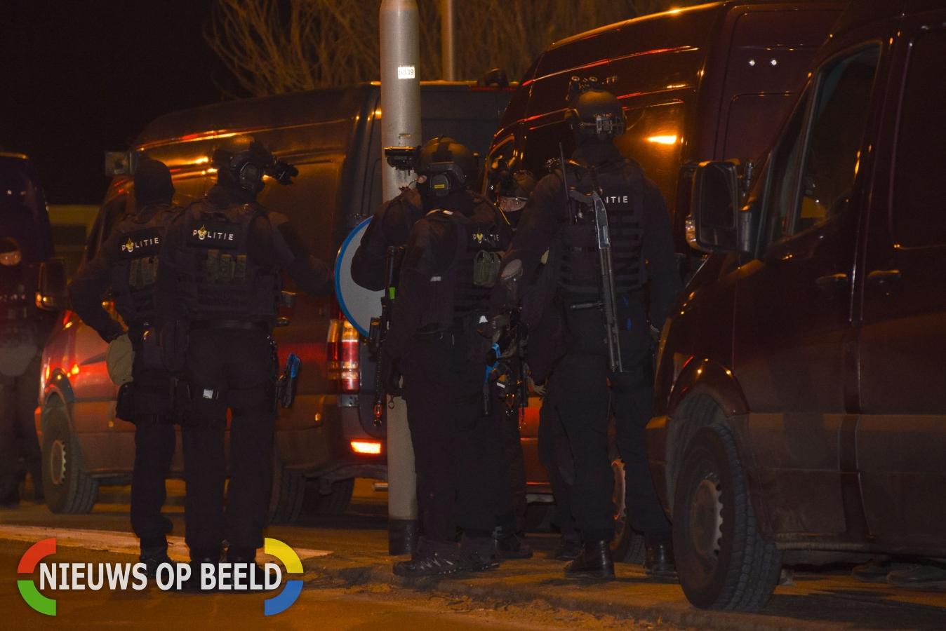 Terreuroefening veiligheidsdiensten verstoort nachtrust inwoners omgeving Capelle en Krimpen (video)