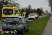 Zwaargewonde na kettingbotsing N456 Bredeweg Zevenhuizen