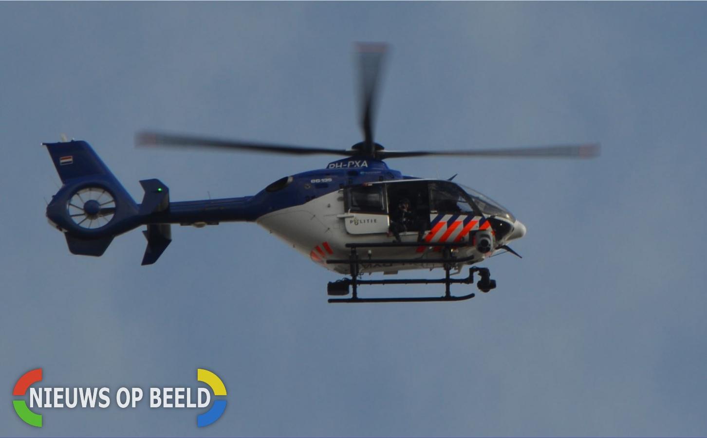 Politiehelikopter op zoek naar vermist meisje Wiekslag Capelle aan den IJssel