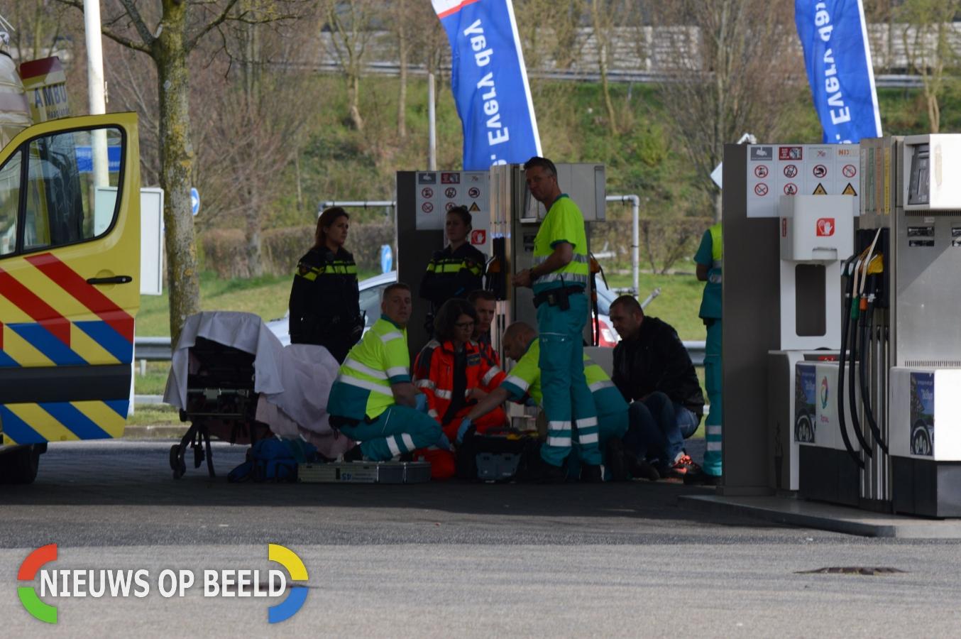 Medische Noodsituatie bij tankstation Houtsingel Zoetermeer