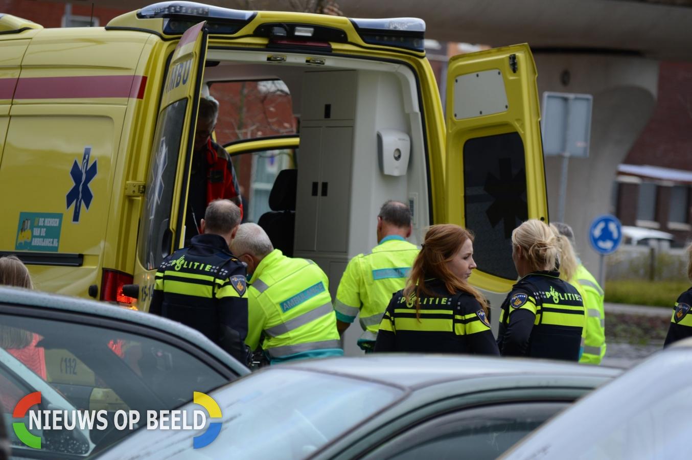 Medische Noodsituatie in woning aan het Sardinie in Zoetermeer